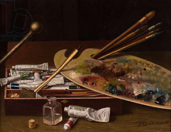 The Artist's Palette, 1880 (oil on canvas)