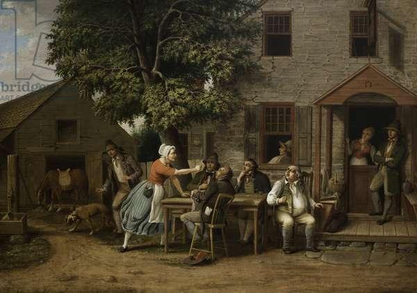 Rip Van Winkle at the Inn, 1879 (oil on canvas)