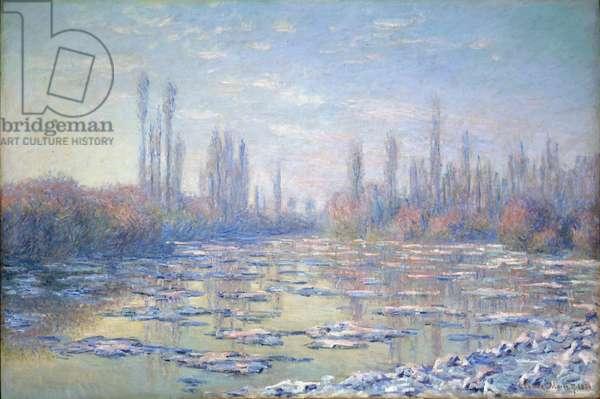 Les Glacons, 1880 (oil on canvas)