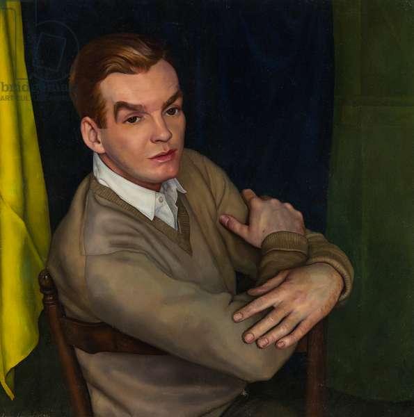 Peter Scott, 1945 (oil on canvas)