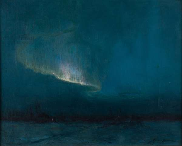 The Northern Lights, 1926 (oil on canvas)