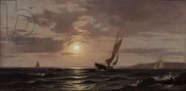 Afternoon Sun, ca. 1880 (oil on canvas)