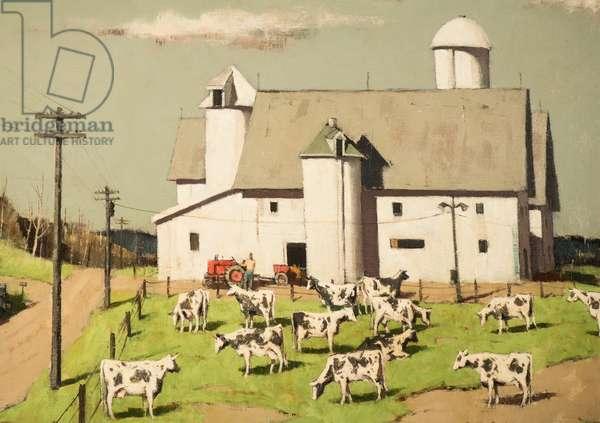 Vermont Farm, 1937 (oil on canvas)