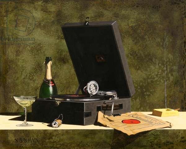 HMV, 2008 (oil on canvas)