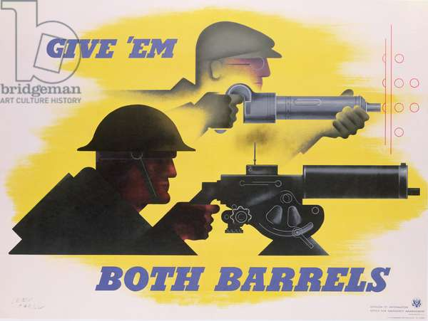 Give 'Em Both Barrels, 1941, (colour offset)