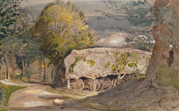 Landscape with Barn, Shoreham