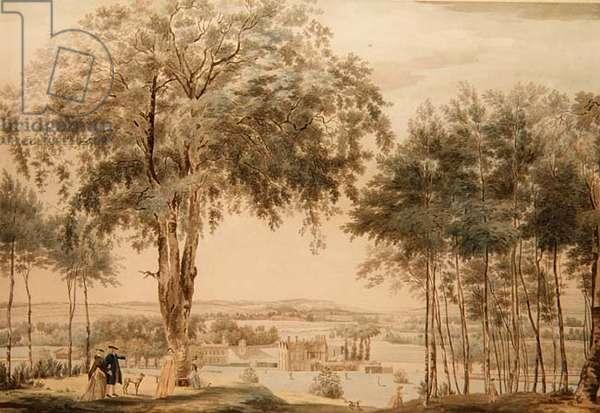 Purley Hall, Berks, 1756