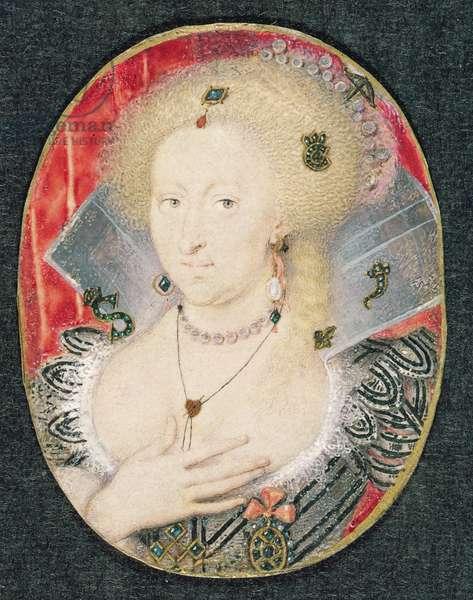 Queen Anne of Denmark, miniature