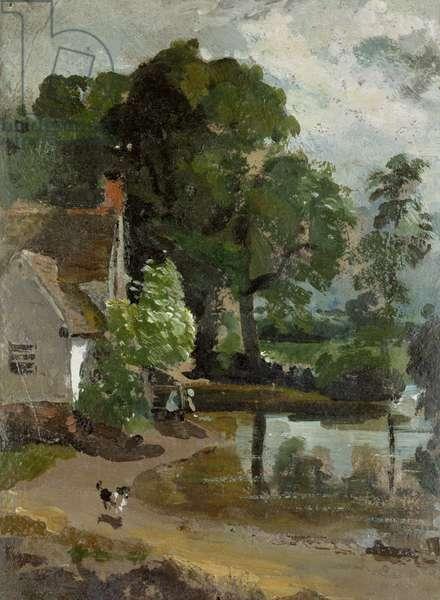 Willy Lott's House, near Flatford Mill, c.1811 (oil on paper)