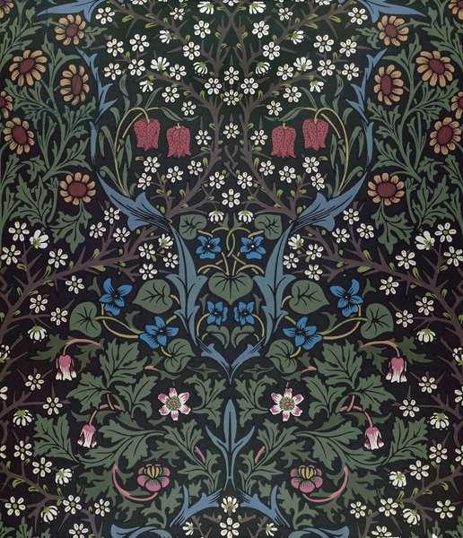 'Blackthorn' wallpaper design, 1892