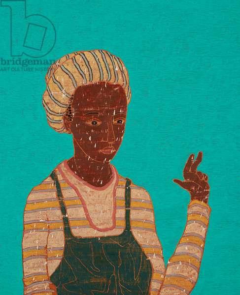 Steaming Agnes (Lest She Wander) 2016-17 (oil on panel)