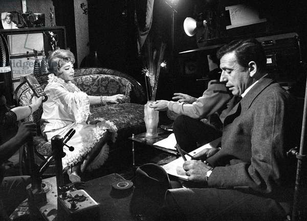 Simone Signoret and Yves Montand