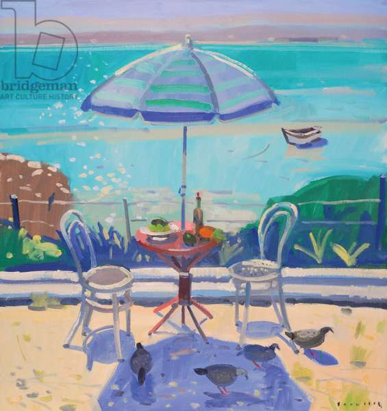 Lunch at the lagoon, Churchhaven, 2007 (oil on canvas)