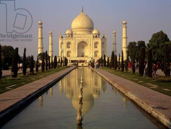 The Taj Mahal. Agra.India.