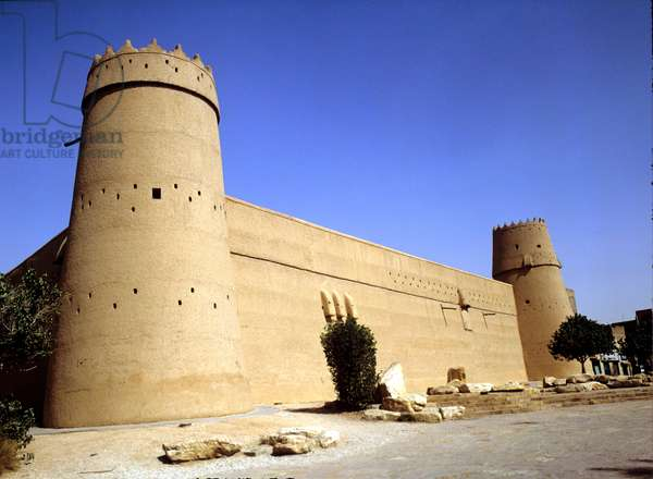 Saudi Arabia Al Masmak Fortress and museum. Riyadh.