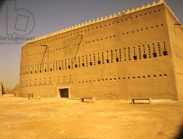 Saudi Arabia. Saad Bin Saud Palace. Riyadh. Diraiyah, Ancient capital. 15th cent.