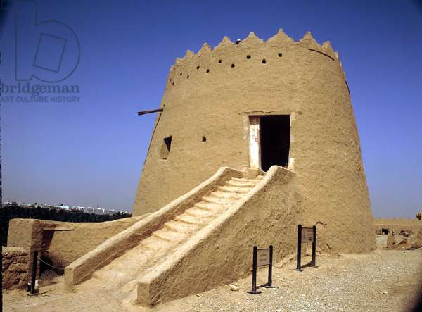 Saudi Arabia. Faisal Tower, Riyadh, Diraiyah, ancient capital. 15th cent.