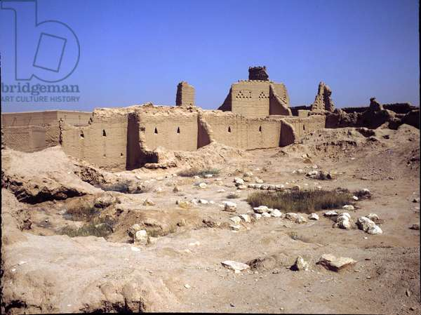 Saudi Arabia. Meshary Bin Saud Palace. Riyadh. Ancient Capital. 15th cent. Diraiyah.