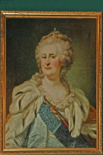 Ukraine, portrait of Catherine the Great