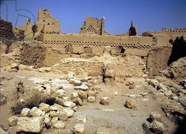 Saudi Arabia.Abdullah Bin Saud palace. Riyadh, ancient capital, 15th cent Diraiyah