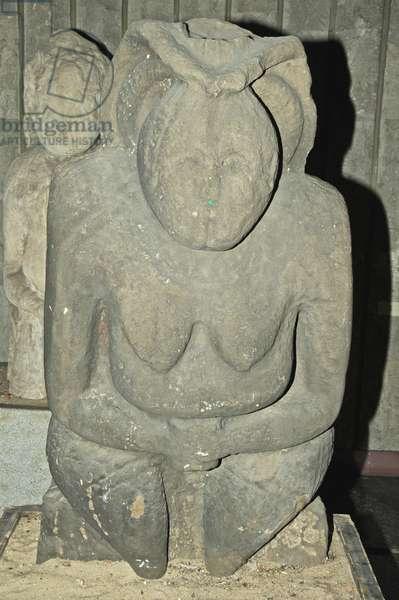 Ukraine, Dnipropetrovsk Museum, pagan grave idol