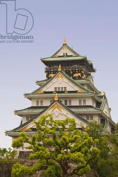 Osaka Castle (16th century),  Osaka,  Osaka Prefecture(???,?saka-fu), Honshu Island, Japan (photo)