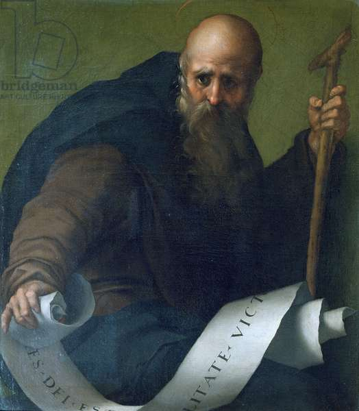 St. Anthony Abbot (c.251-356) c.1518-19 (oil on canvas)