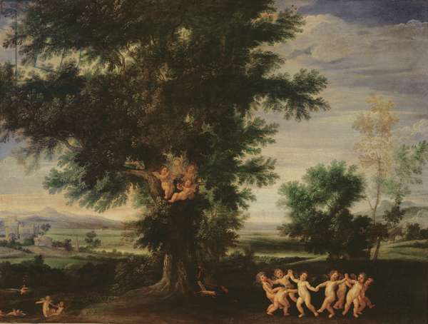 Dance of the Cupids, c.1630 (oil on canvas)