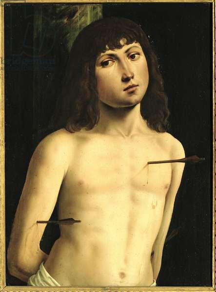 Saint Sebastian, c.1490s (tempera on panel)