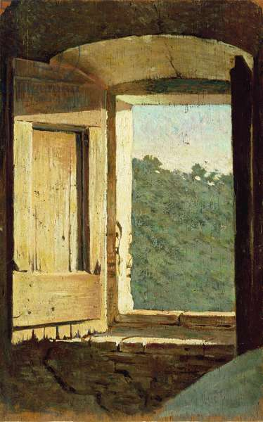 The Window (oil on canvas)