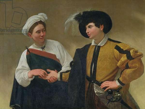 The Fortune Teller (La Buona Ventura), c.1594