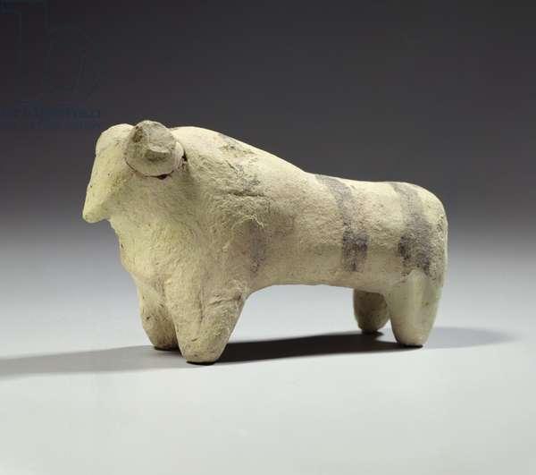 Bull in the Ubaid style, c.4000-3500 BC (terracotta)