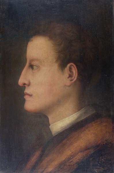Cosimo de' Medici I (1519-74) as a young man, c.1537 (oil on panel)