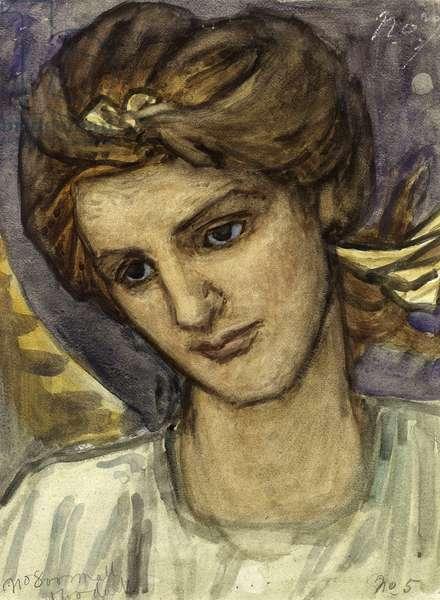 St Catherine, c.1899 (w/c on paper)