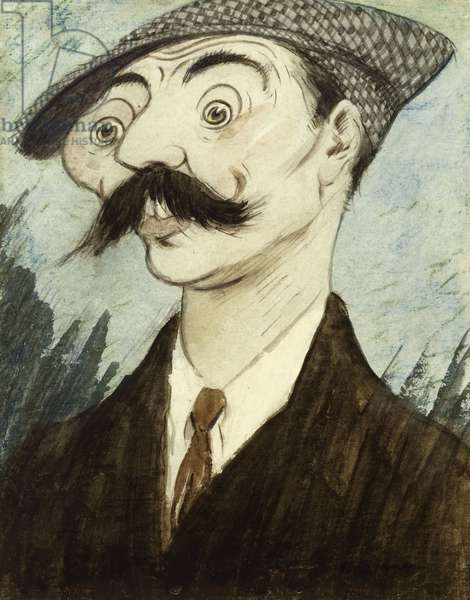 """""""One of Jix's Toy Bobbies"""", c.1920 (w/c on paper)"""