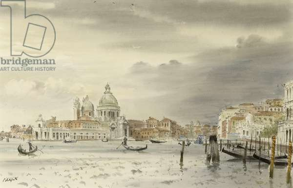 Venice, c.1950 (w/c on paper)