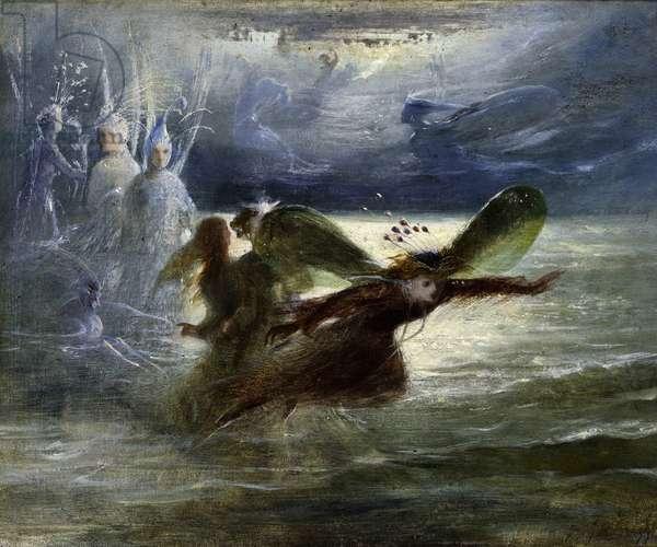 Sea Sprites, c.1870 (oil on canvas)