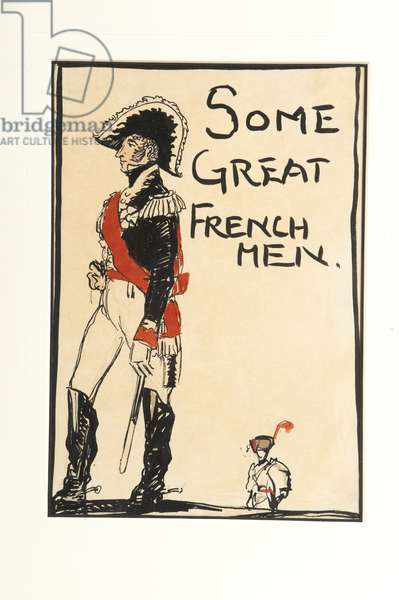 Some Great French Men, 1917 (w/c on paper)
