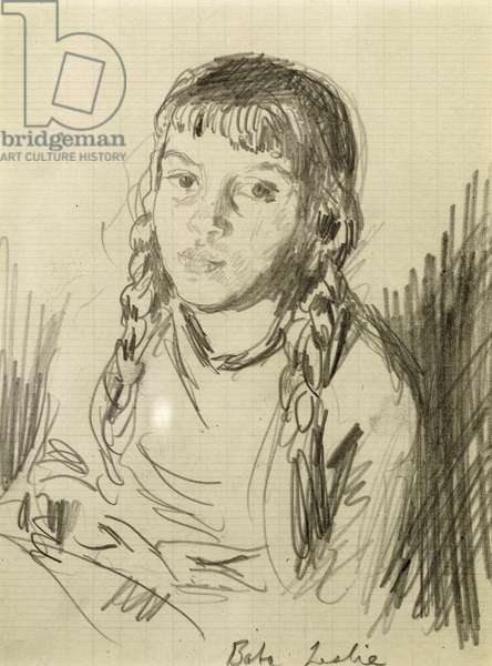 """""""Baba"""", c.1935 (pencil on paper)"""