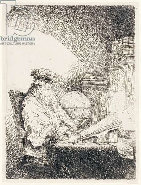 The Astrologer, c.1643-45 (etching)