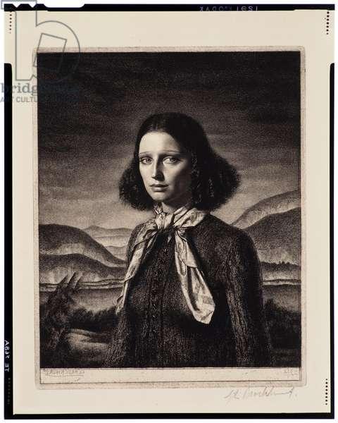 Dorette, 1932 (etching)