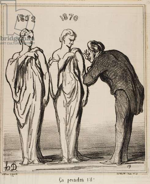 Ça prendra t'-il!, 1870 (litho)