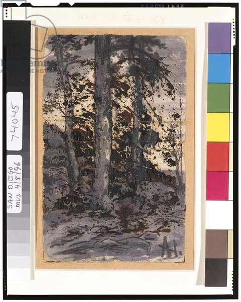 Winter Landscape, 1901-15 (w/c on paper)