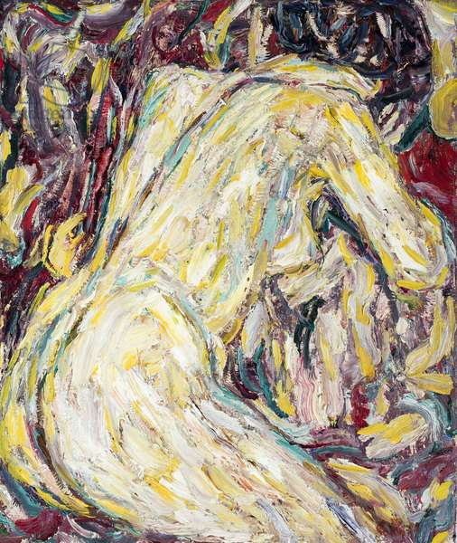 Nude, 1911 (oil on canvas)