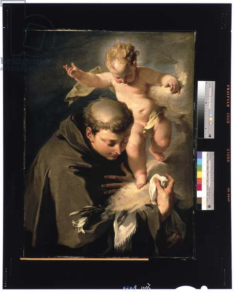The Vision of Saint Anthony of Padua c.1730 (oil on canvas)