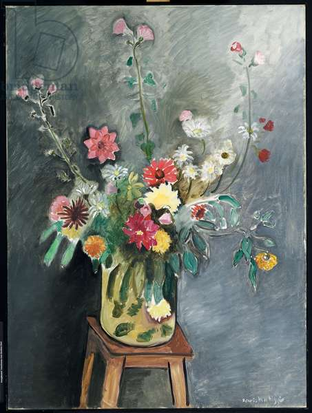 Bouquet, 1916-17 (oil on canvas)