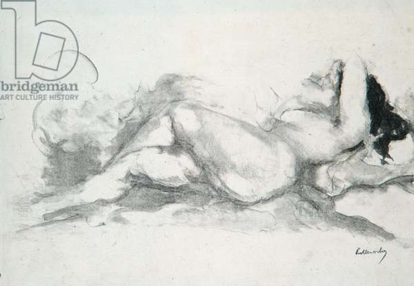 Nude in Bed (litho)