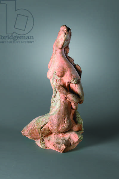 Seated Female Figure, c.1925 (terracotta)