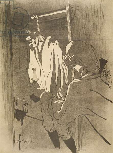 The Hanged Man, 1892 (litho)