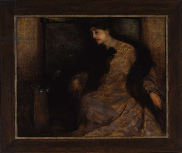 Portrait in Grey and Black, 1902 (oil on canvas)